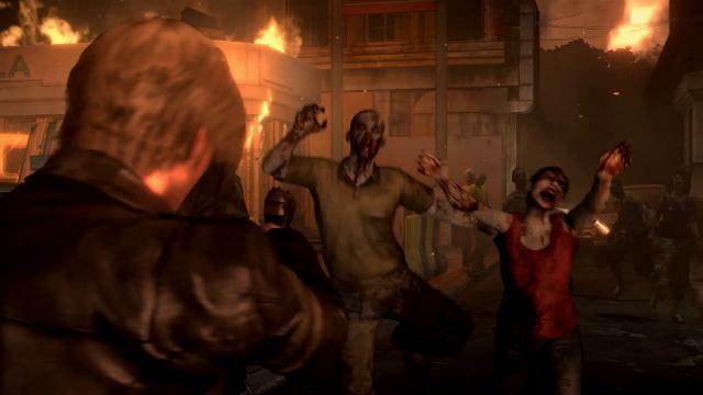 Resident Evil 6 Leon Zumbis
