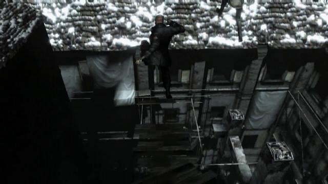 Resident Evil 6 Personagem Novo Pulando