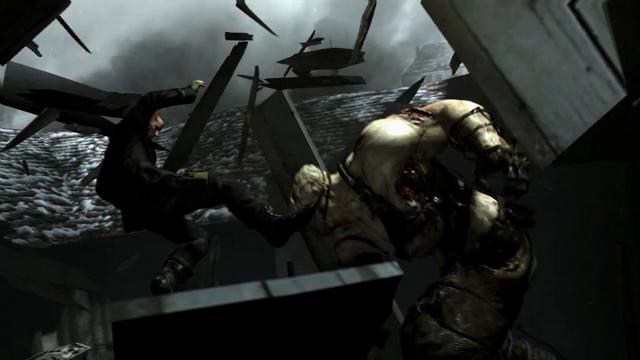 Resident Evil 6 Personagem Novo Tyrant