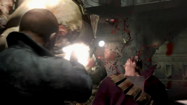Resident Evil 6 Personagem Novo Tiro