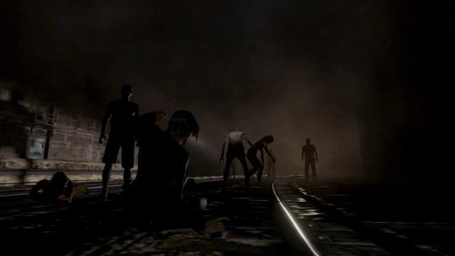 Resident Evil 6 Leon deslizando