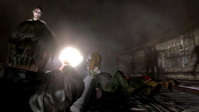 Resident Evil 6 Leon deslizando 2