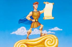 Sabe por que esse filme é uma bosta? Cade a barba do Hercules?