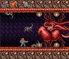 Contra 3 é um jogo muito original e... XENOMORPH!! RUN!!!