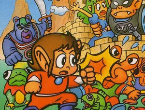 Alex Kidd, o Action Hero do mundo dos games.