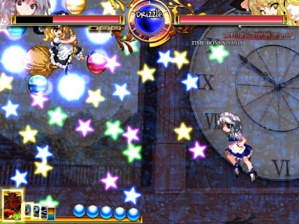 Claramente um Fighting Game inspirado num Bullet Hell.